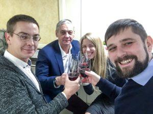 Станислав, Леон, Юлия, Евгений, 2016 год, поезд Москва-Питер.
