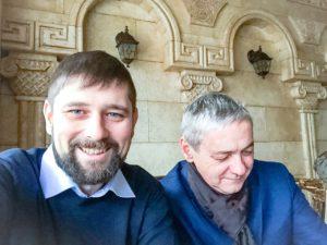 Евгений Соловьев и Леон Быков