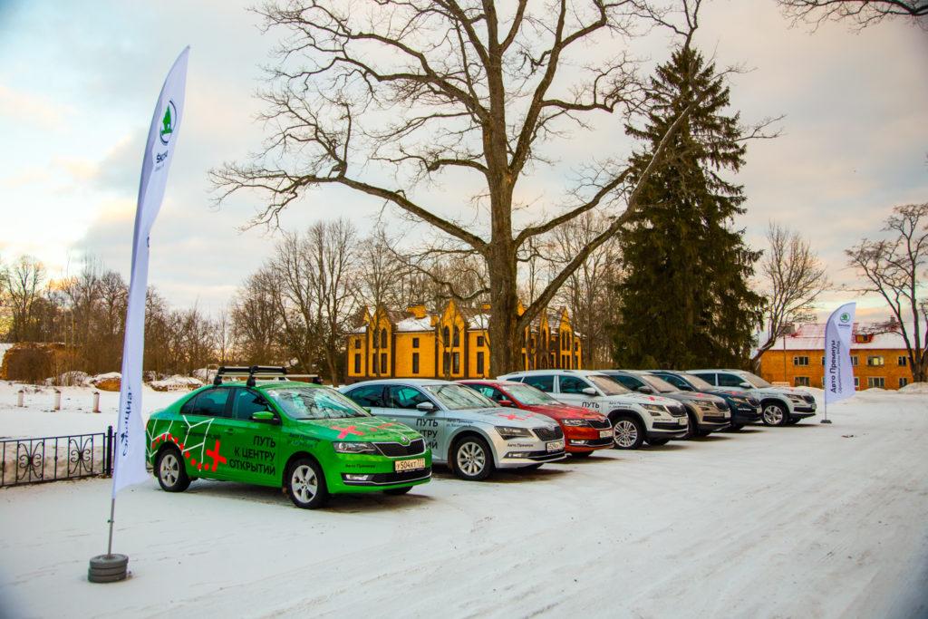 Автомобили участвующие в экспедиции