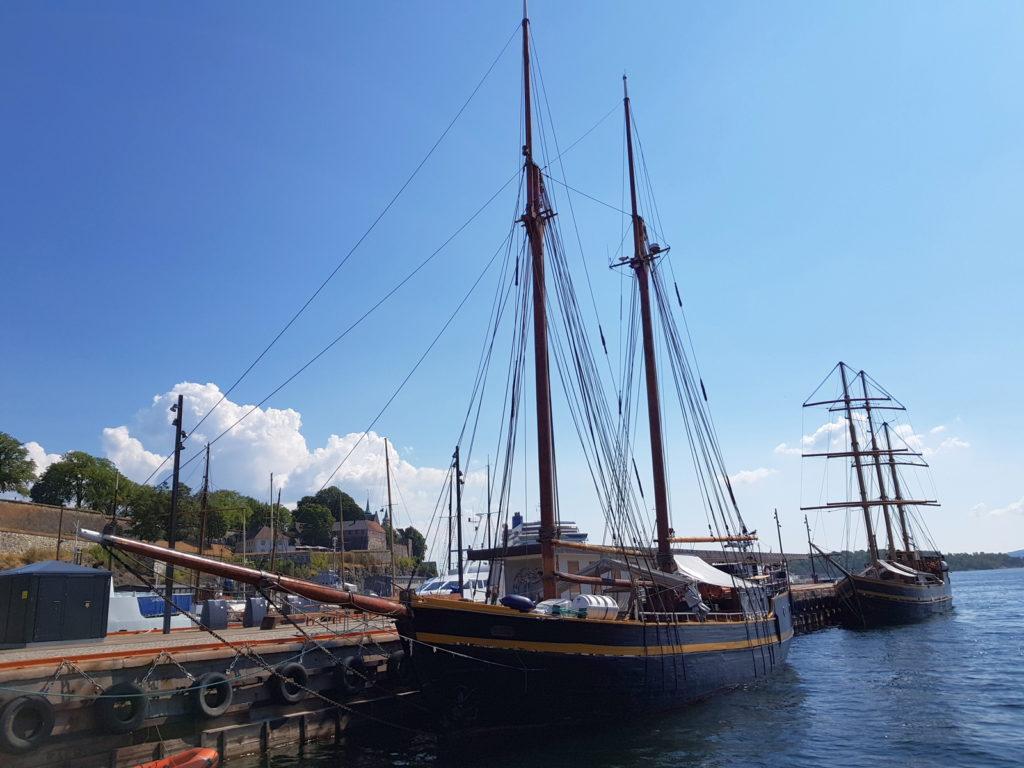 Один из редких кадров в Осло