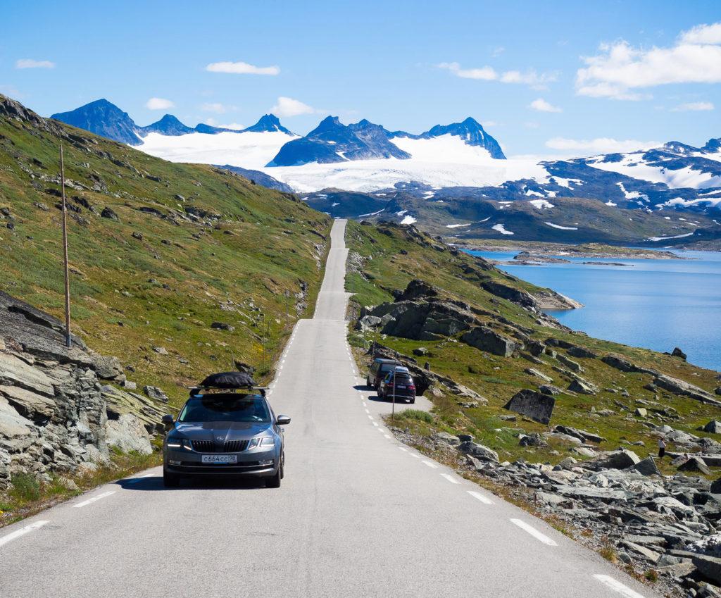 Skoda Octavia на норвежских дорогах